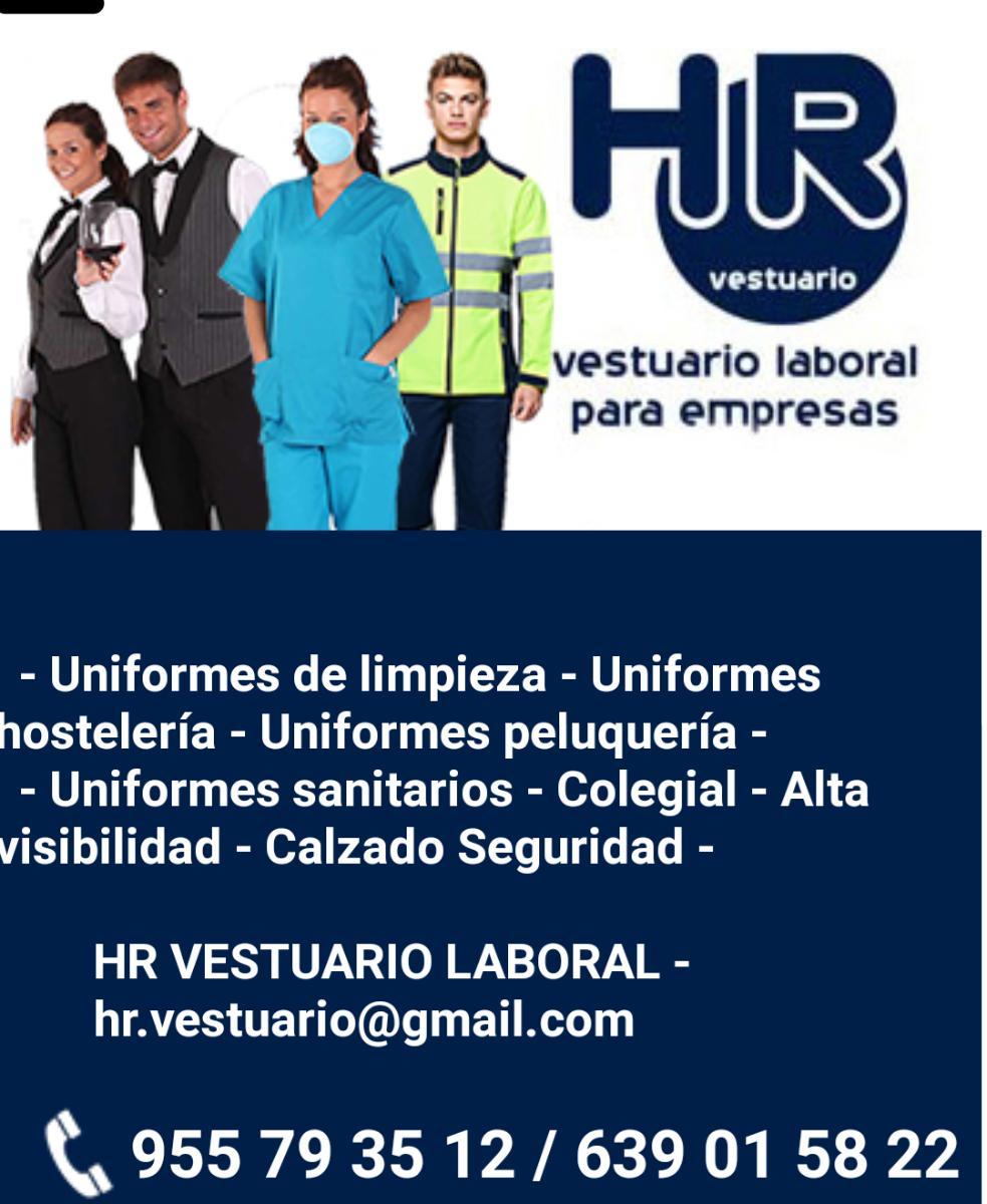 Ropa de trabajo, Sanidad, Hostelería, Limpieza, Peluquería y Estética, Calzado Seguridad, Calzado Sanitario.