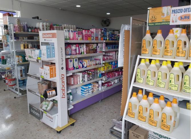 Productos de higiene personal y limpieza